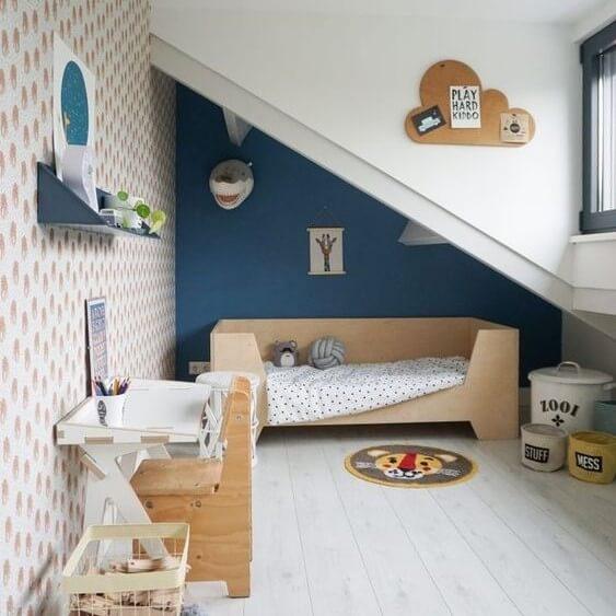Milyen színeket használjunk a tetőtéri gyerekszobában?