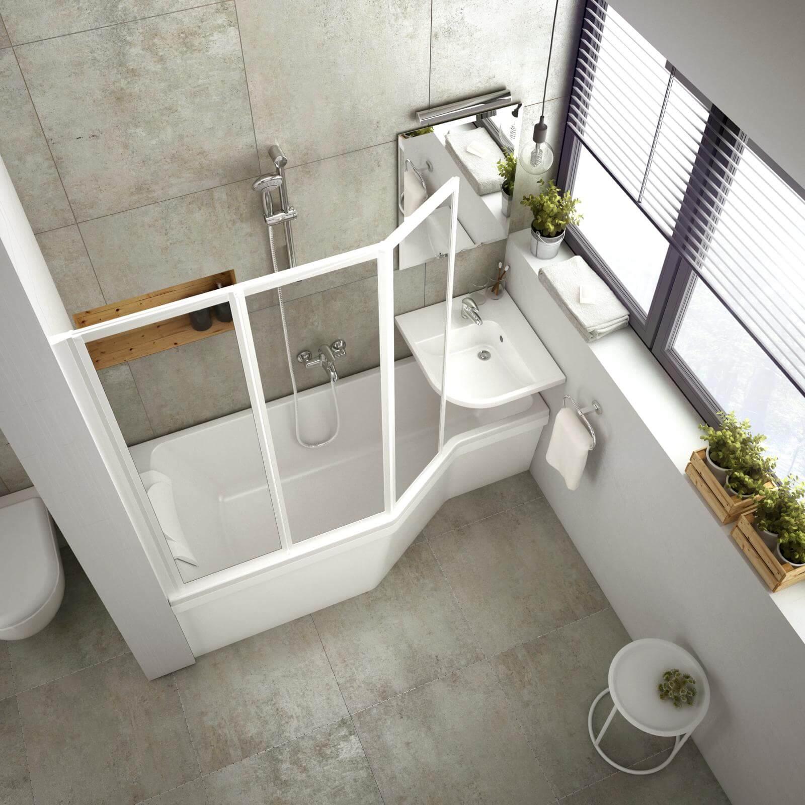 Kicsi a fürdőszobája? Így használja ki!