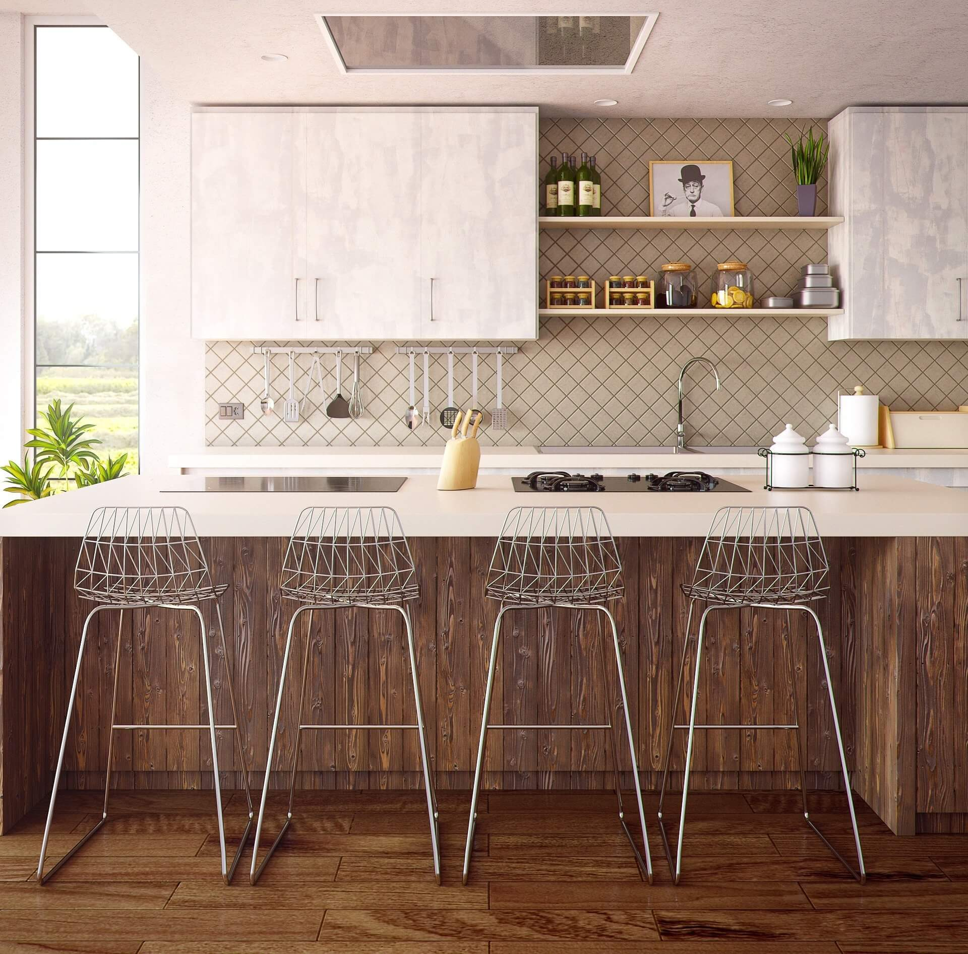 A konyha felújítása